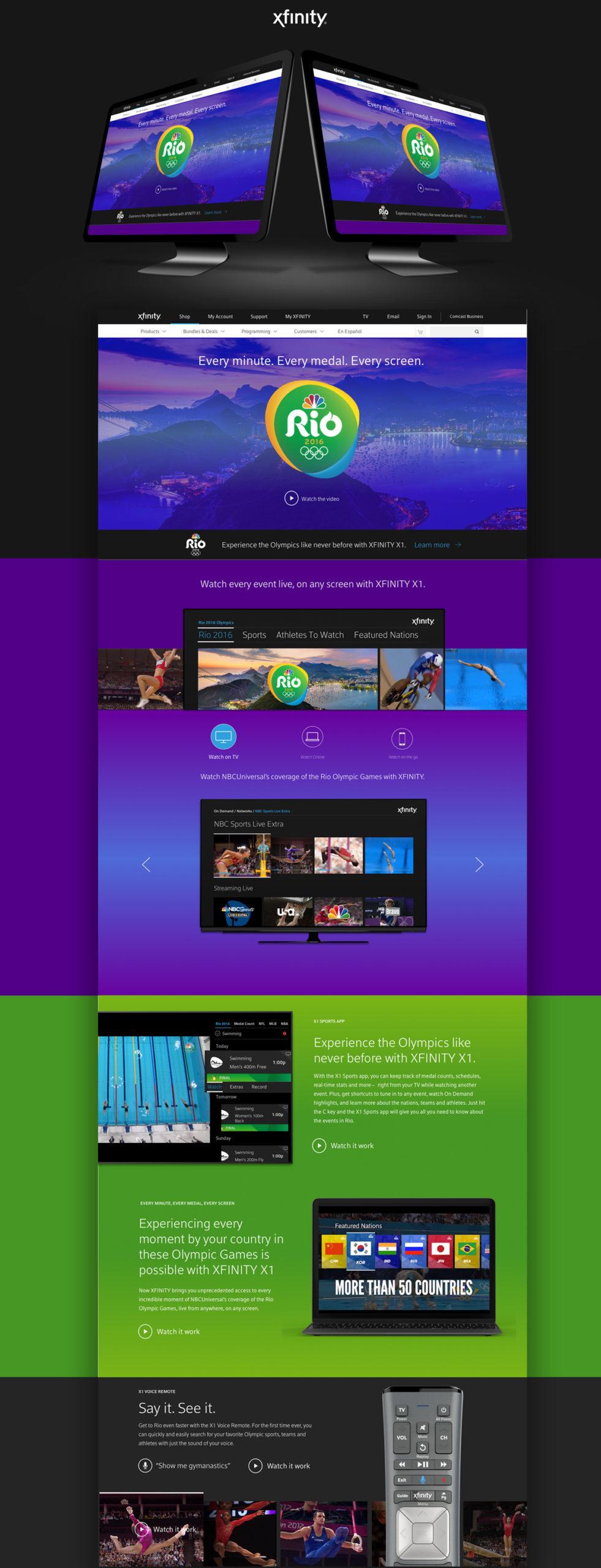 xfinity-comcast-x1-rio-olympics-page